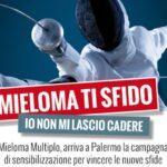 """""""MIELOMA TI SFIDO…IO NON MI LASCIO CADERE!"""" fa tappa a Palermo"""