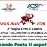 "A Capaci (PA), si corre la ""Christmas Run For Legality"""