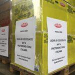 Dolfin dona 11.000 uova di Pasqua alla Protezione Civile