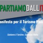 Ripartiamo dall'Italia, il grido di orgoglio e di aiuto del mondo del turismo